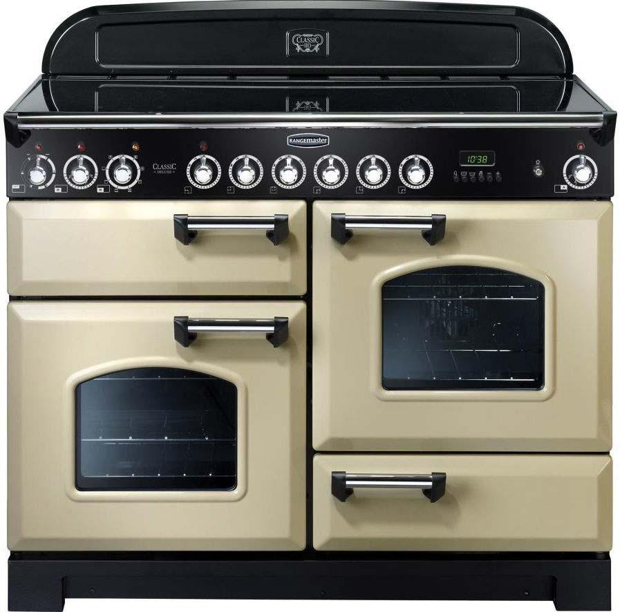 RANGEMASTER Classic Deluxe 110 Electric Range Cooker CDL110EC