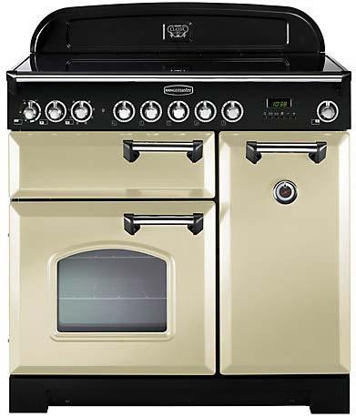 RANGEMASTER Classic Deluxe 90 Electric Range Cooker CDL90EC