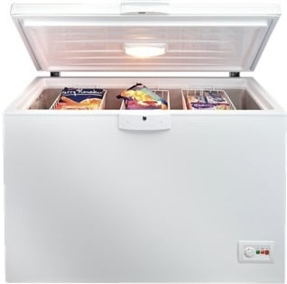 BEKO Large 128.5cm Chest Freezer CF1300APW