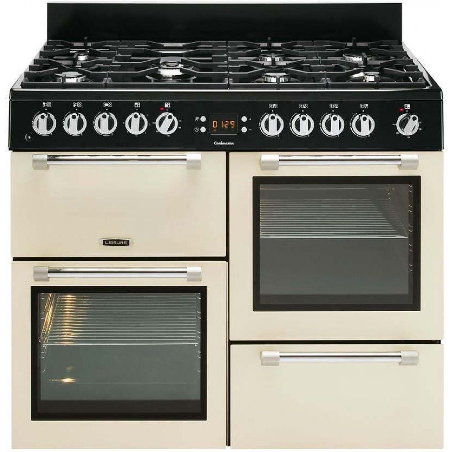 LEISURE 'Cookmaster' 100cm Dual Fuel Range Cooker CK100F232C
