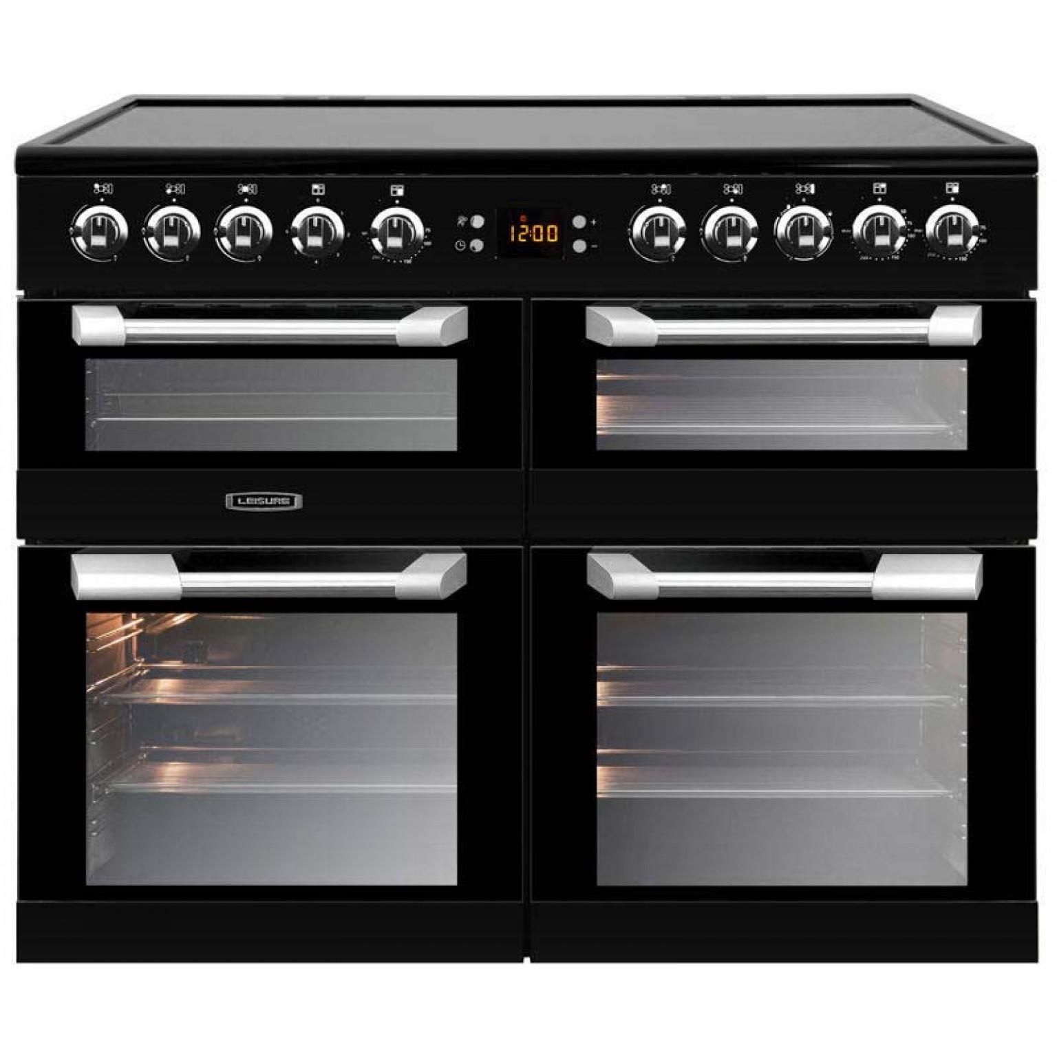 LEISURE 'Cuisinemaster' 100cm All Electric Range Cooker CS100C510K