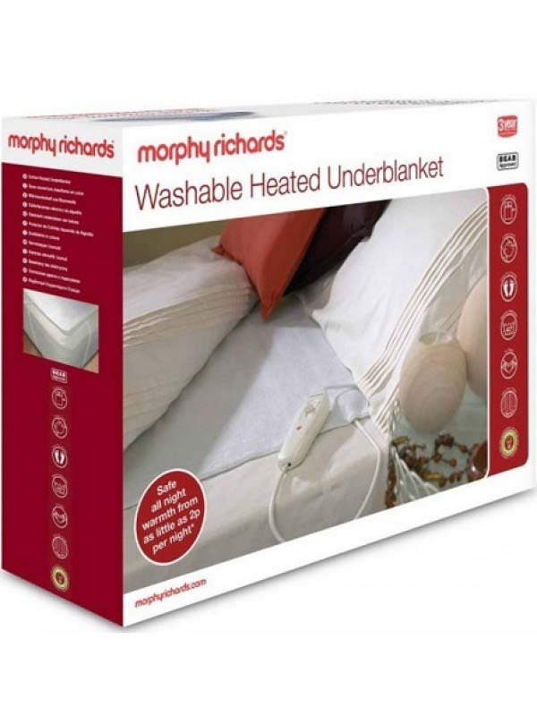 Morphy Richards Heated Underblanket | Single