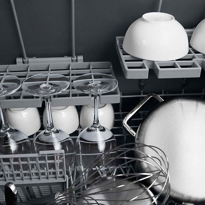 FISHER & PAYKEL Double Dishwasher in Black DD60DCHX7