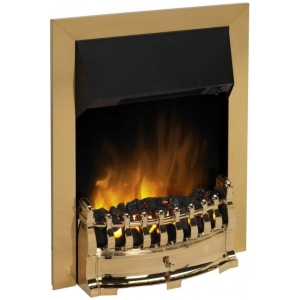 DIMPLEX 'Stamford' Optiflame Brass Inset Fire STM20