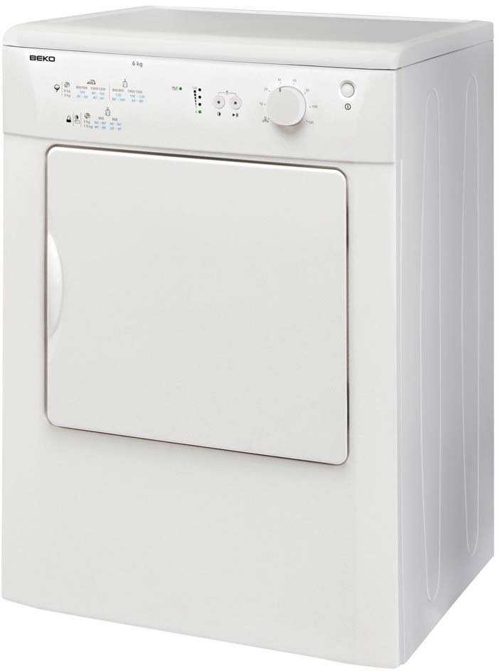 Beko 7kg Vented Tumble Dryer | DRVT71W