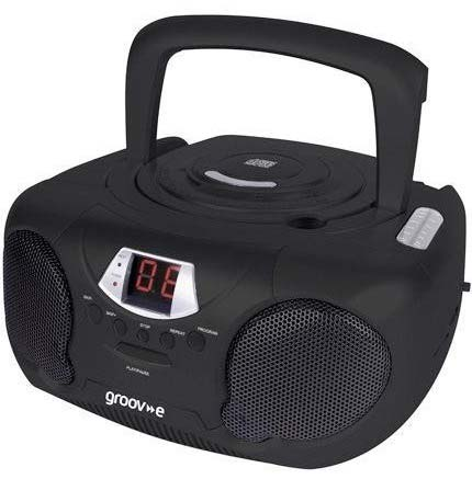 Groov-e CD Player With Radio | GV-PS713BK