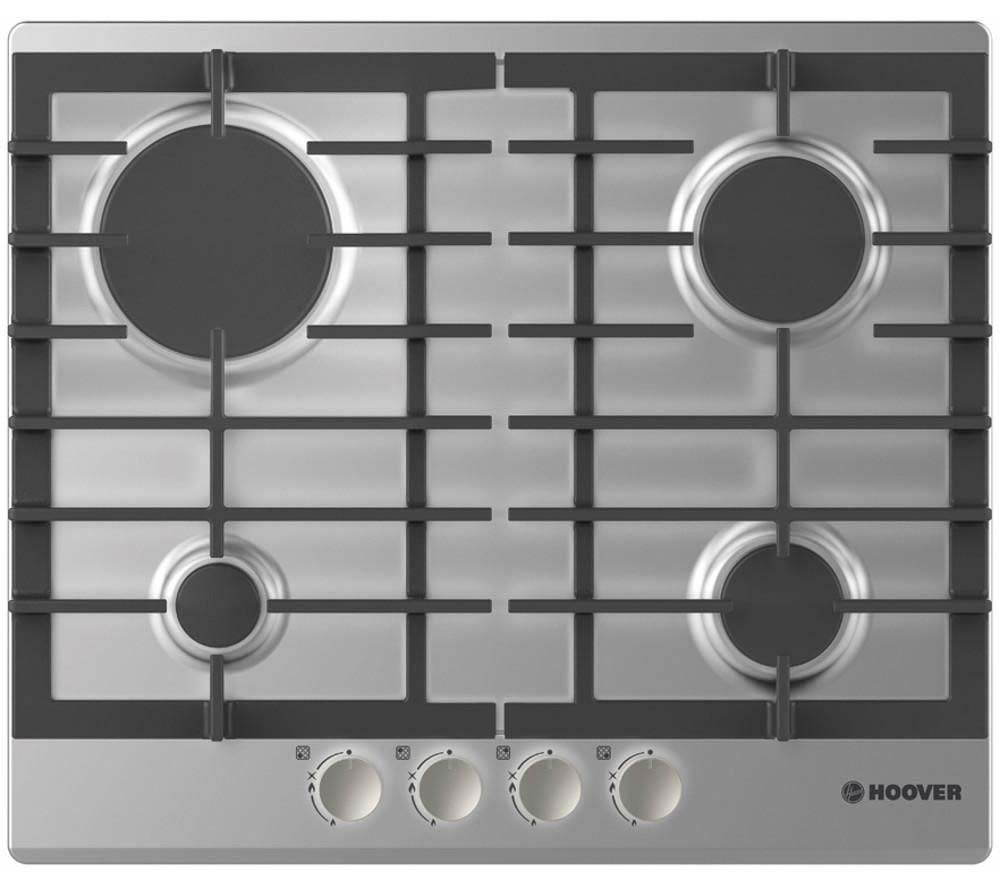 Hoover 60cm Gas Hob | HGH64SCEX