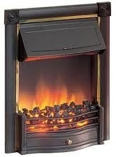 DIMPLEX OptiFlame 'Horton' inset fire with coal HTN20BL