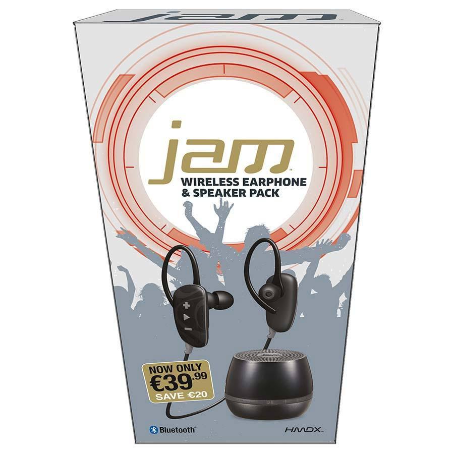 Jam Wireless Bluetooth Earphones & Speaker Set