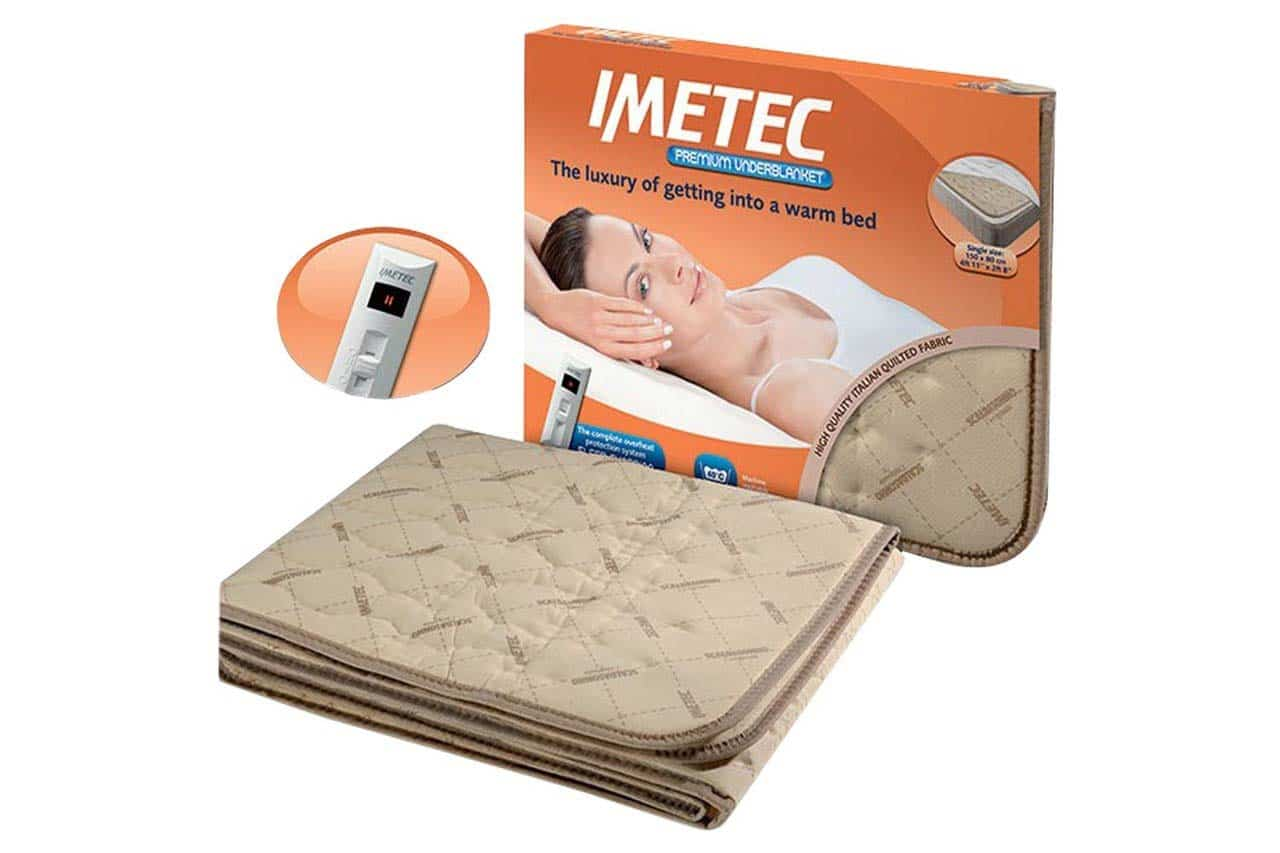 Imetec Premium Dual Heated Underblanket   Double