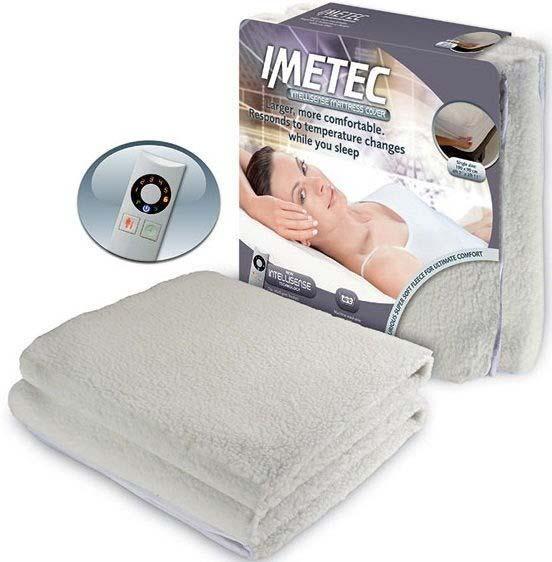 Imetec Intelliscence Heated Fleece Mattress Cover | Single