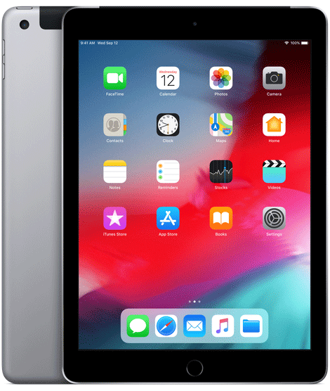 iPad | WiFi | 128GB | Spacce Grey APPLE MR7J2B/A