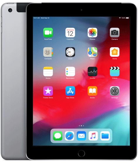 iPad | WiFi | 128GB | Spacce Grey APPLE MR7J2B/A