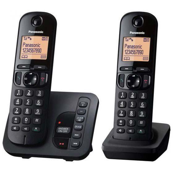 Panasonic Twin Dect Cordless Telephone | KXTGC222