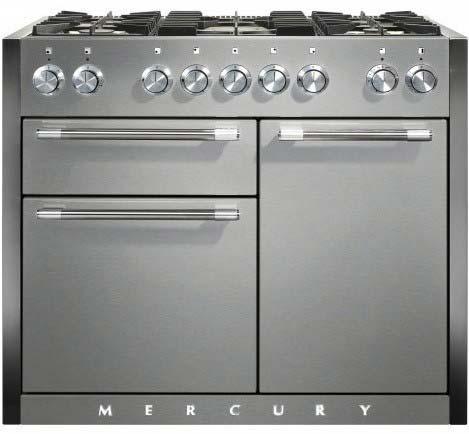 Mercury 1082 Dual Fuel Range Cooker