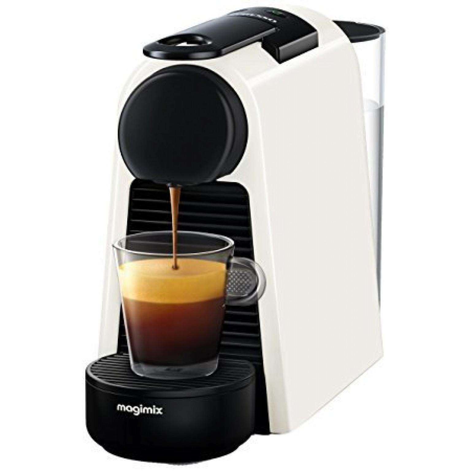 NESPRESSO ESSENZA MINI WHITE COFFEE MACHINE 11365