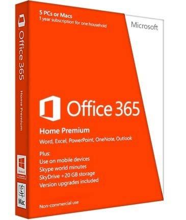Microsoft Office 365 Home Premium | 6GQ-00020