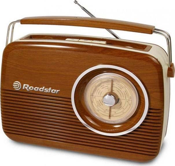Roadstar Vintage Portable LW/MW/FM Radio  TRA1957WD