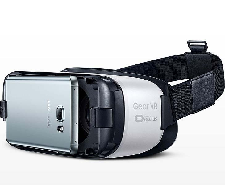 Samsung Gear VR lite virtual reality headset