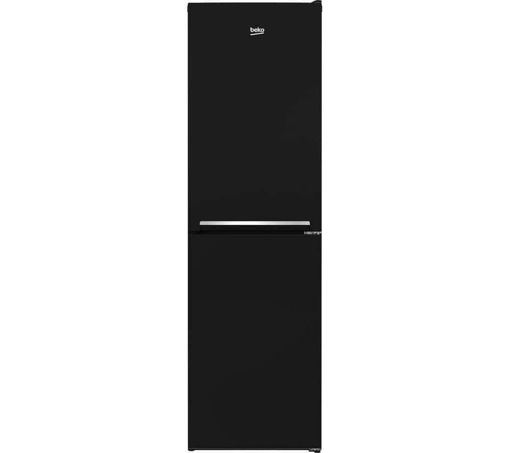 Beko Black Fridge Freezer | CSG1582B