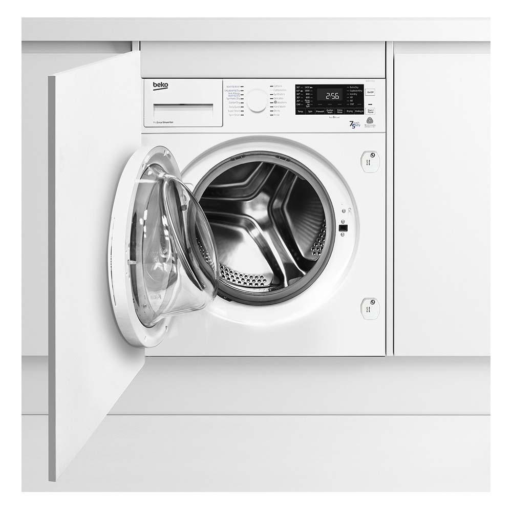 Beko 7Kg Integrated Washer Dryer    WDIR7543101