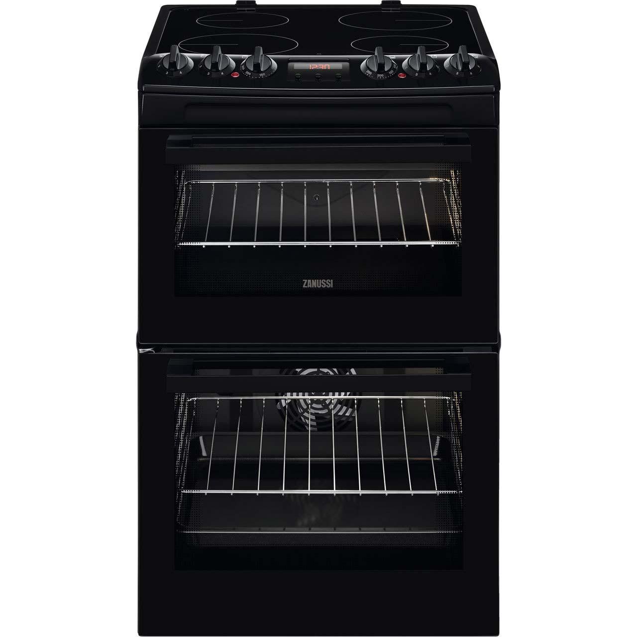 Zanussi 55cm Electric Cooker | ZCV46250BA