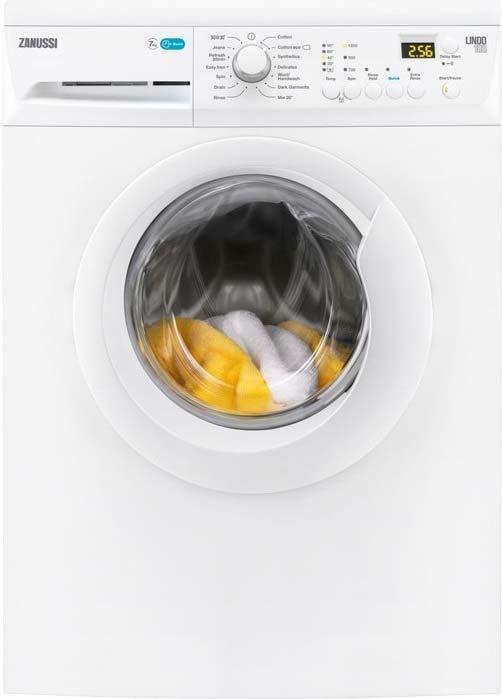 Zanussi Lindo 7KG 1200 Spin White Washing Machine ZWF71243W