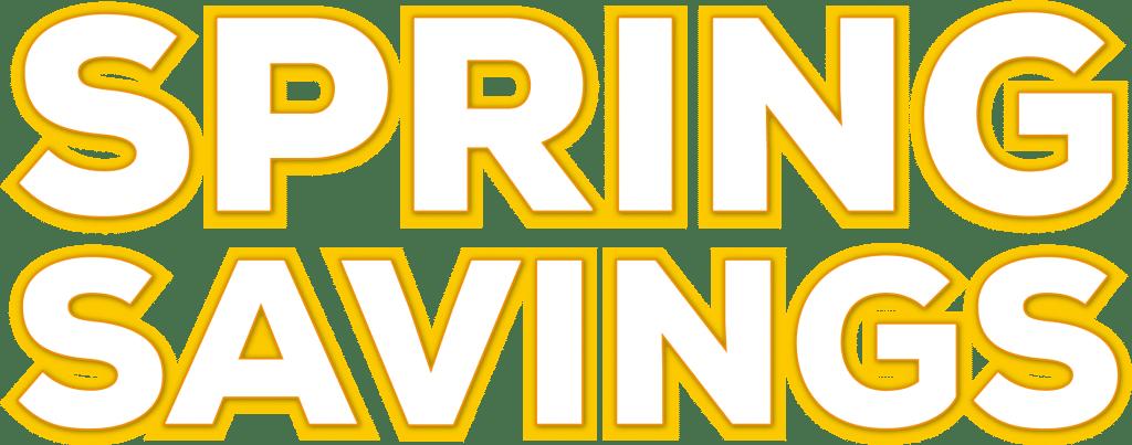 logo sping savings 2021