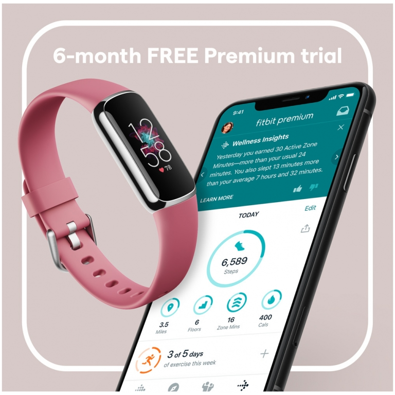 fitbit luxe orchid 6