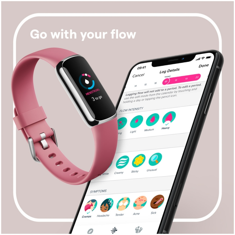fitbit luxe orhcid 5