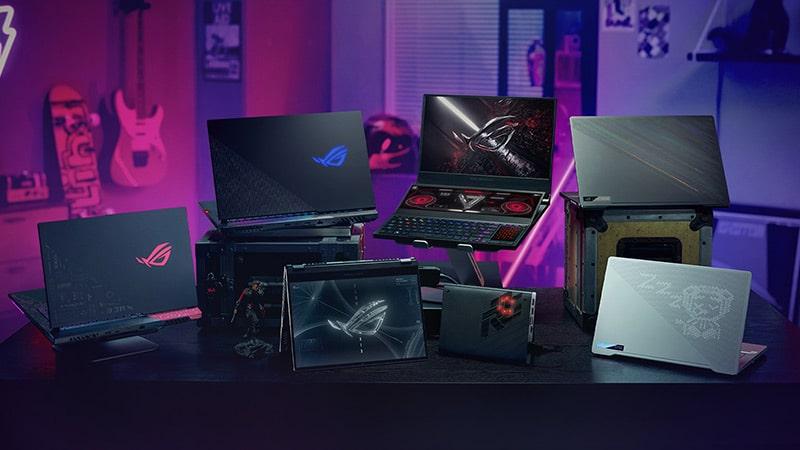 electrocity categories laptops asus gaming