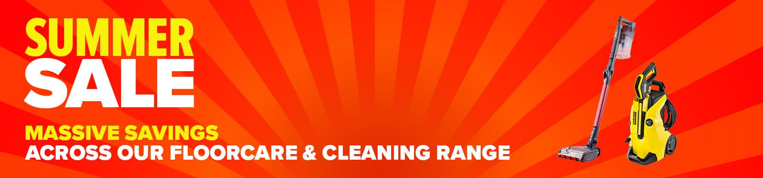 category banner floorcare cleaning summer sale