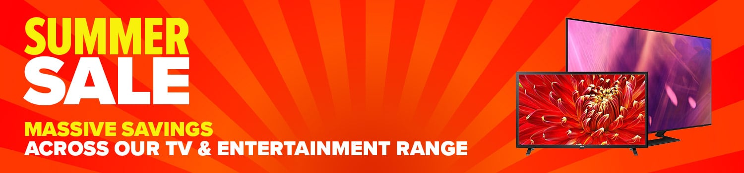 category banner tv entertainment summer sale