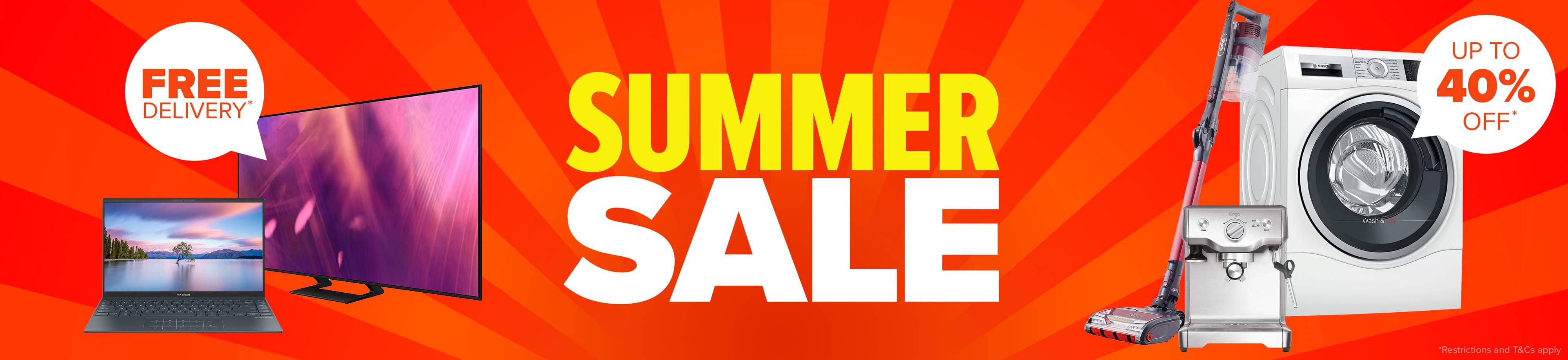 homepage carousel desktop summer sale