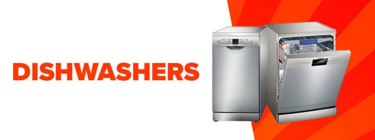 small banner dishwashers summer sale
