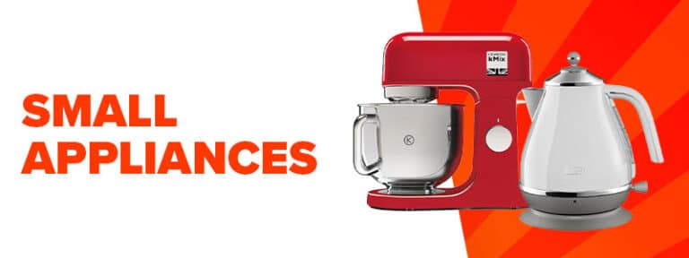 small banner small appliances summer sale