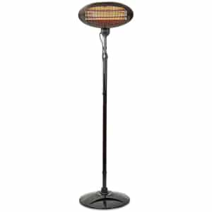 nedis 2000w outdoor patio heater with stand black (1)