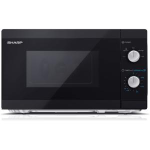 sharp 20 litre 800w solo microwave black (1)