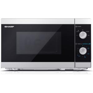 sharp 20 litre 800w solo microwave silver (1)