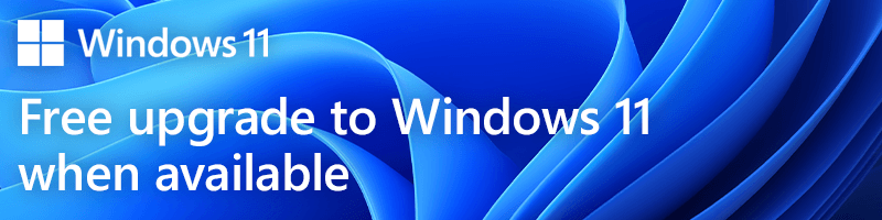windows 11 upgrade banner