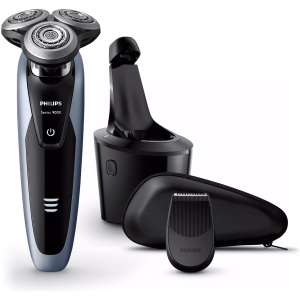 philips shaver series 9000 wet & dry electric shaver with smartclean plus system (4)