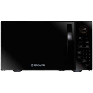 hoover solo 25 litre freestanding microwave black (2)