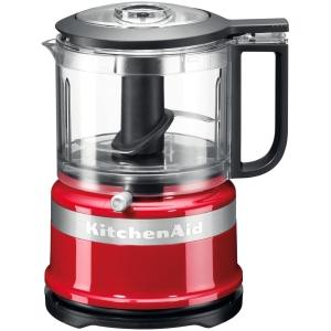 kitchenaid mini chopper food processor red